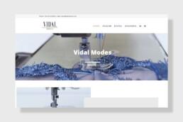 Portfolio, κατασκευή ιστολελίδων Vidal Modes